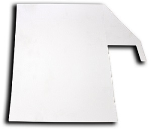 Readeasy Move high contrast capture mat for use with dark or very relfective table surfaces.