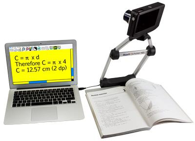Readit Scholar HD distance viewing.